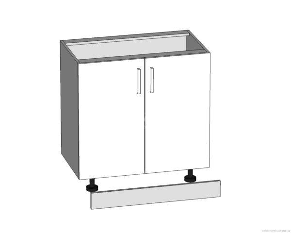 D-80/82 dolní skříňka L/P kuchyně Tapo