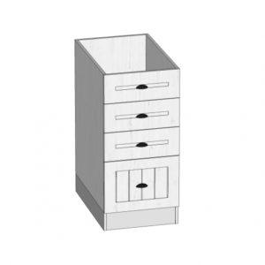 D40S4 dolní skříňka kuchyň Prowansja