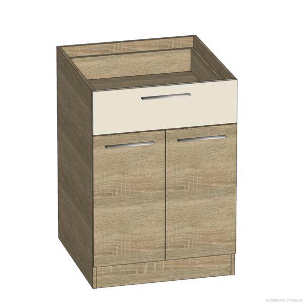 D60S1 dolní skříňka kuchyň Luna