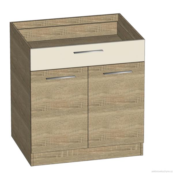 D80S1 dolní skříňka kuchyň Luna