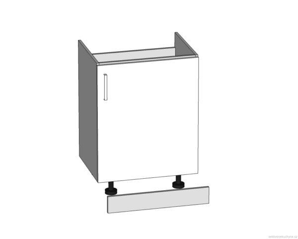 DK-60/82-P (L) dolní skříňka pod dřez kuchyně Tapo