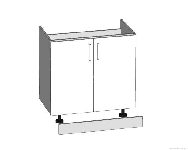DK-80/82-L/P dolní skříňka pod dřez kuchyně Tapo