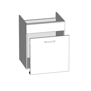 DKS-60/82-S/B dolní skříňka pod dřez kuchyně Tapo
