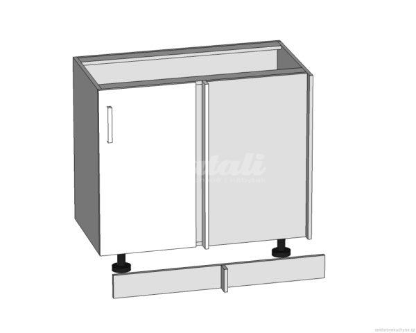 DNW-105/82-P-L rohová dolní skříňka kuchyně Tapo
