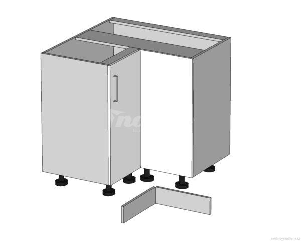 DNW-90/82-P/P (L/L) rohová dolní skříňka kuchyně Tapo