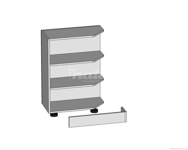 DNZ-30/82 vnější rohová dolní skříňka kuchyně Tapo