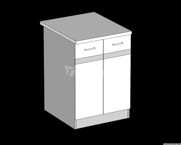 Dolní skříňka 60 kuchyň Eliza (EZ14/D60)