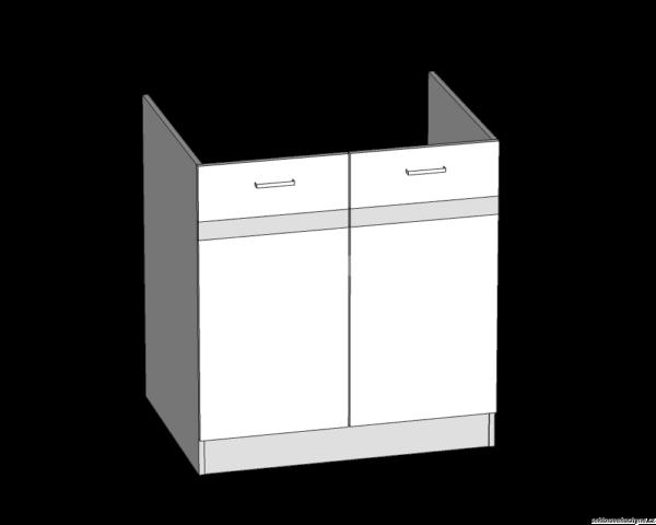 Dolní skříňka 80 dřezová kuchyň Eliza (EZ17/D80)