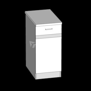 Dolní skříňka LP 40S1 kuchyň Eliza (EZ11/D40S1)