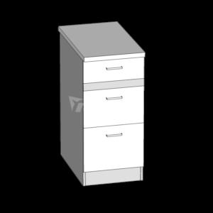 Dolní skříňka LP 40S3 kuchyň Eliza (EZ12/D40S3)