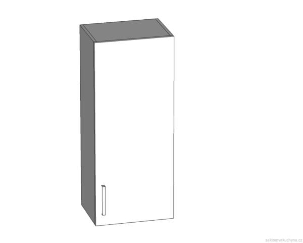 G-40/95 P (L) horní skříňka kuchyně Tapo