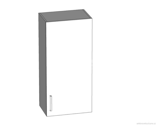 G-45/95 P (L) horní skříňka kuchyně Tapo