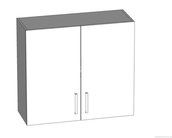 G-80/72 L (P) horní skříňka kuchyně Tapo