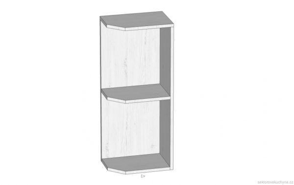 G25PZ horní skříňka kuchyň Prowansja