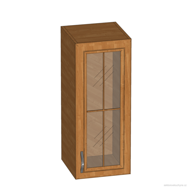 G30S horní skříňka se sklem kuchyň Sycylia