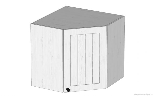 G60N rohová horní skříňka kuchyň Prowansja