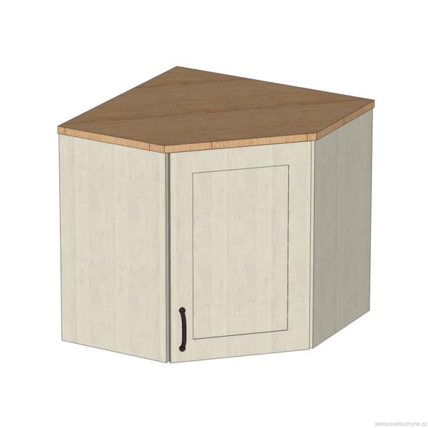 G60N rohová horní skříňka kuchyň Royal