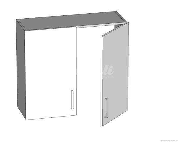 GC-80/72 L (P) horní skříňka s odkapávačem kuchyně Tapo