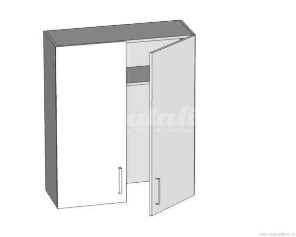 GC-80/95 L (P) horní skříňka s okapávačem kuchyně Tapo