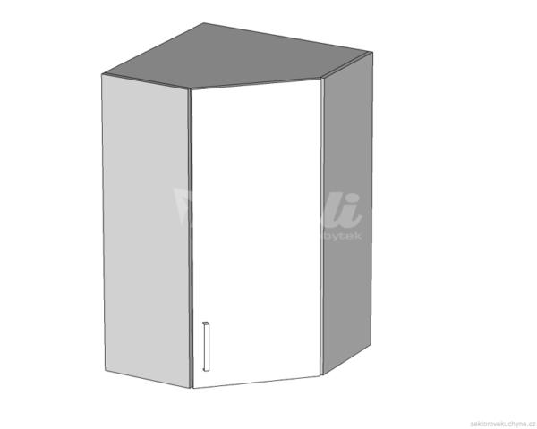GNWU-60/95 P (L) horní rohová skříňka vnitřní kuchyně Tapo