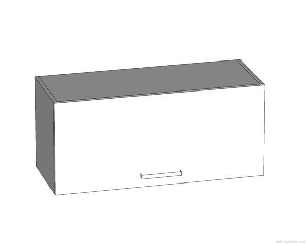 GO-80/36-O horní skříňka pro vestavbu odsavače par kuchyně Tapo