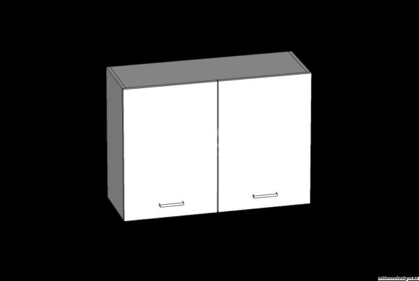Horní skříňka 80 kuchyň Eliza (EZ5/G80)