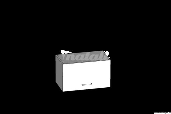 Horní skříňka digestořová 50 kuchyň Eliza (EZ8/G50o)