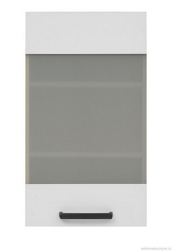 Horní skříňka prosklená G-40/72 kuchyň Semi Line