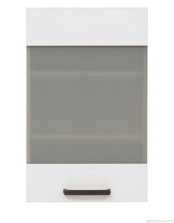 Horní skříňka prosklená G-45/72 kuchyň Semi Line
