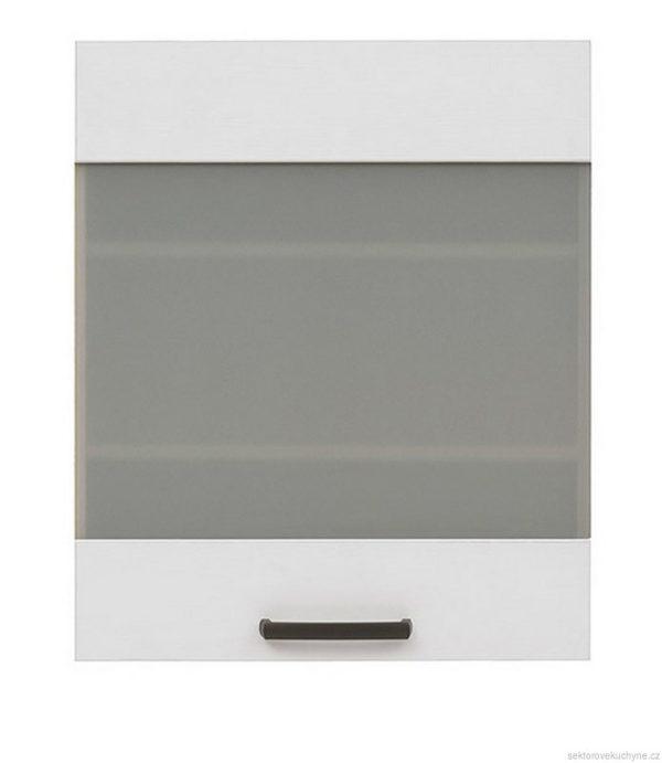 Horní skříňka prosklená G-60/72 kuchyň Semi Line