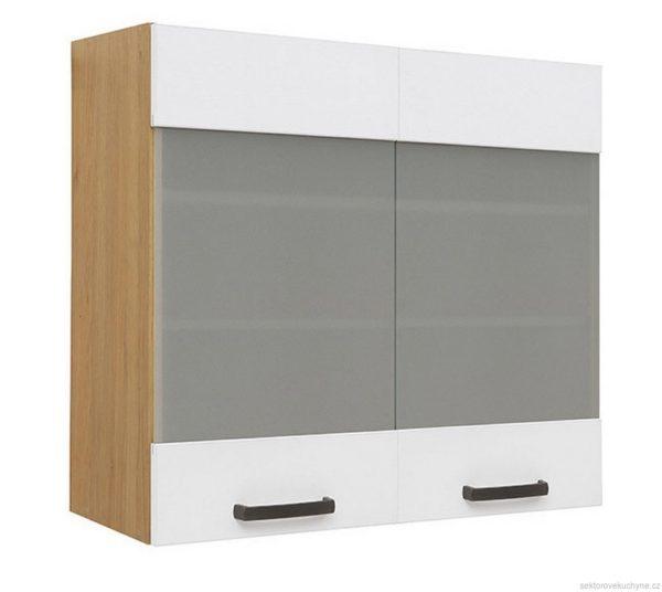 Horní skříňka prosklená G-80/72 kuchyň Semi Line