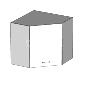 Horní skříňka rohová LP 60 kuchyň Eliza (EZ7/G60NW)