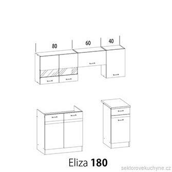 Kuchyňská linka Eliza 180