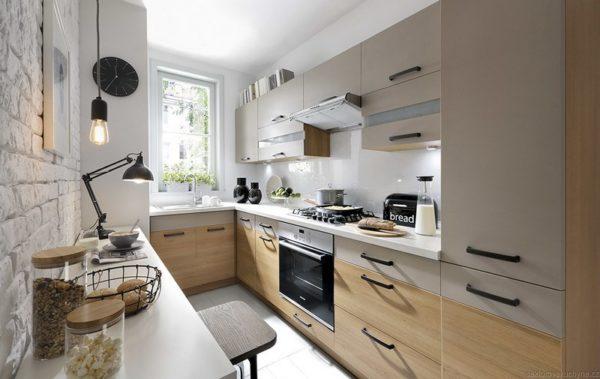 Pracovní deska KASHMIR WHITE kuchyň Semi Line