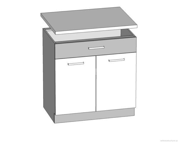 Spodní skříňka 80 kuchyň Modena MD20-D80S1
