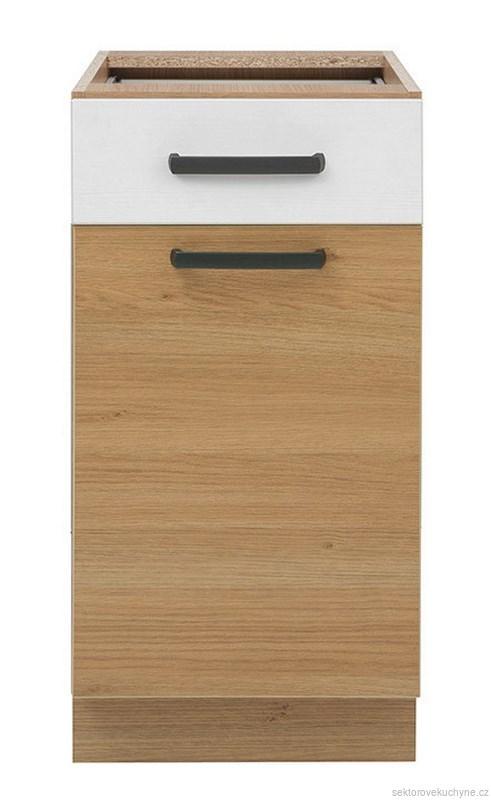 Spodní skříňka D1S-40/82 kuchyň Semi Line