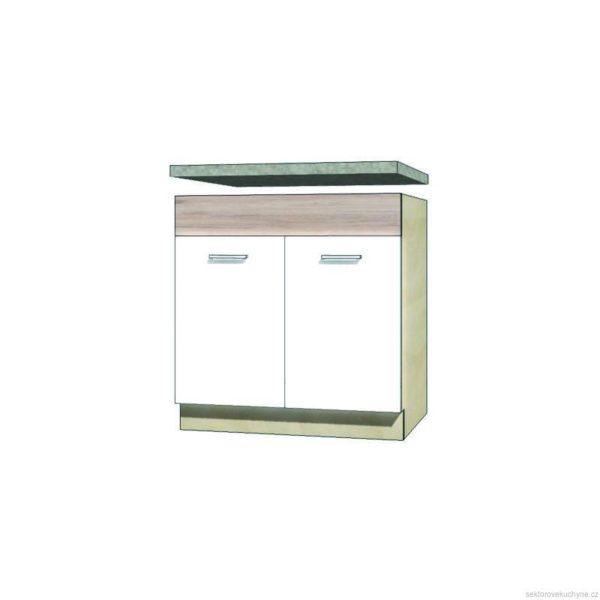 Spodní skřínka pod dřez 12D kuchyň Econo