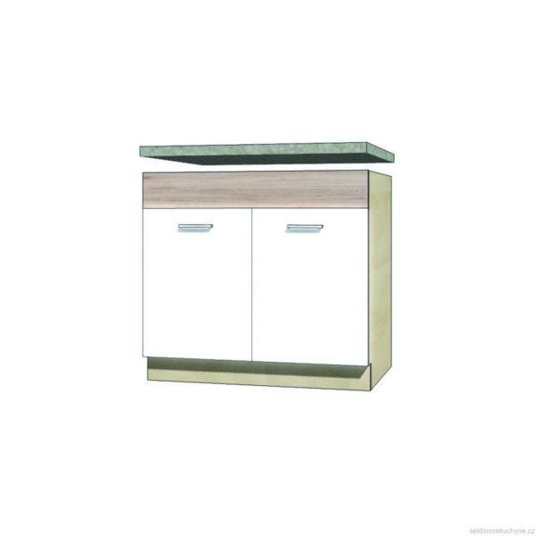 Spodní skřínka pod dřez 13D kuchyň Econo