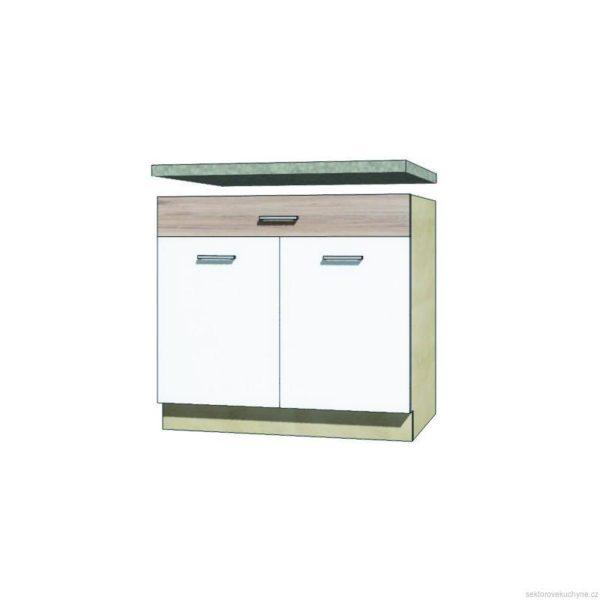 Spodní skřínka s šupíkem 7D kuchyň Econo