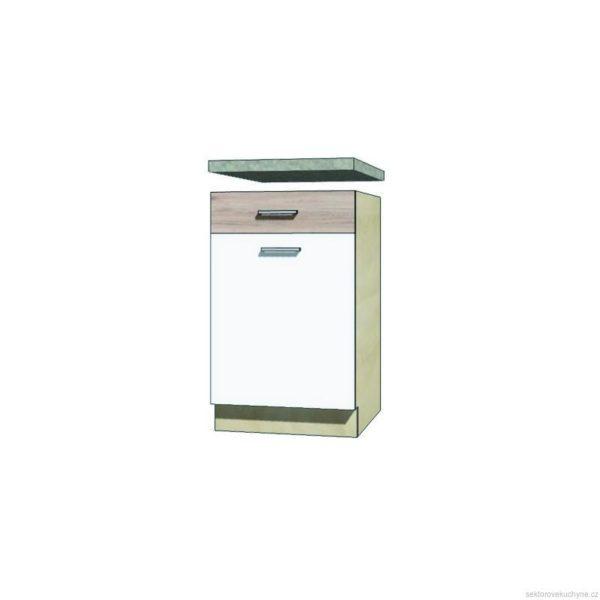 Spodní skřínka s šuplíkem 4D kuchyň Econo