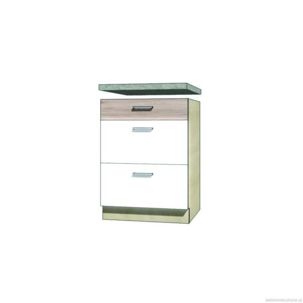 Spodní skřínka s šuplíky 10D kuchyň Econo