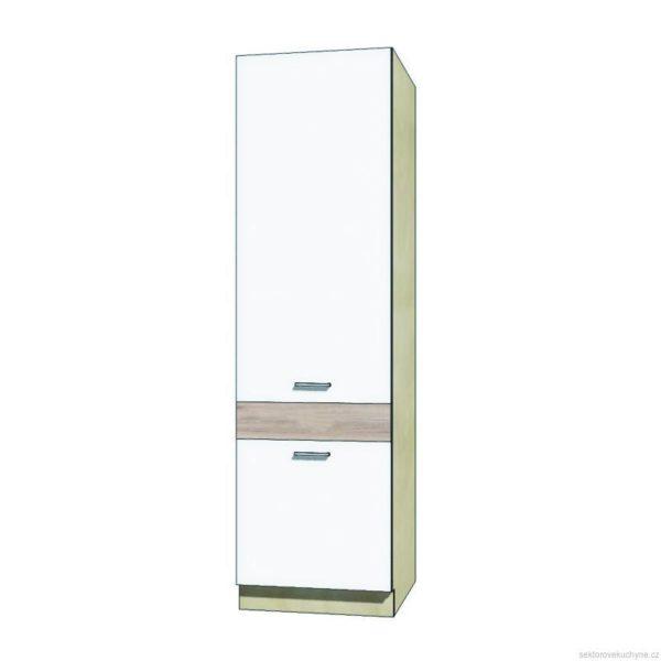 Vysoká skřínka pro lednici 21D kuchyň Econo
