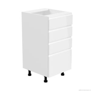D40S4 šuplíková dolní skříňka kuchyň Aspen