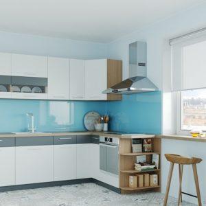 Rohová kuchyňská linka Modena 250x170 cm